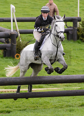 Cassie Rigby and COOLEY STEEL - Brigstock International Horse Trials, Rockingham Castle 2014
