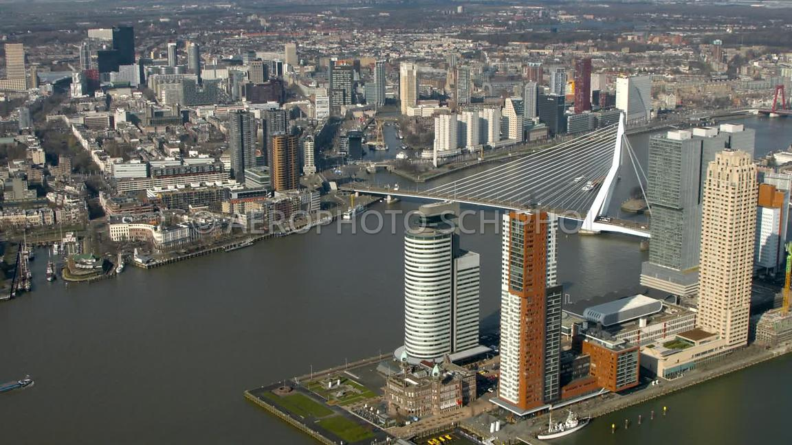 Wilhelminapier, Rotterdam. 