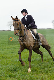 at Newbold - The Fitzwilliam Hunt visit the Cottesmore at Burrough House