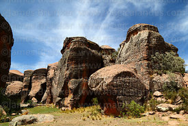 Rock formations in Ciudad de Itas, Torotoro National Park, Bolivia