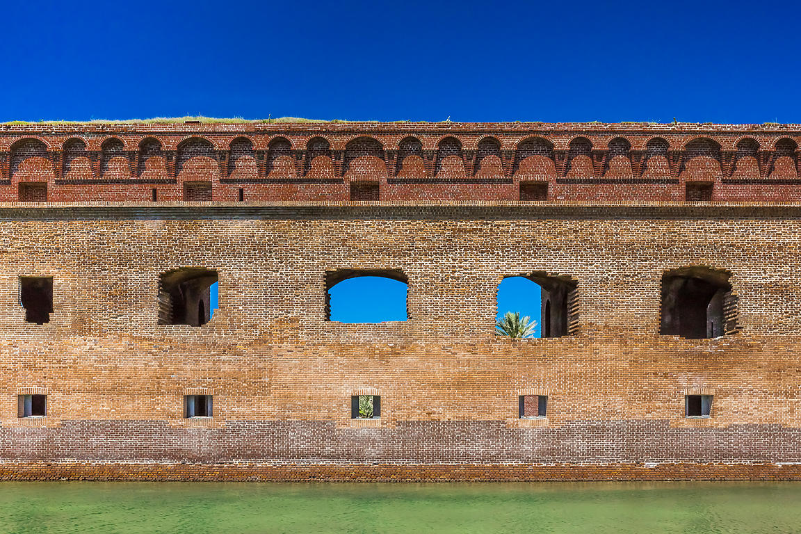 Fort Jefferson in Dry Tortugas National Park, Florida, USA