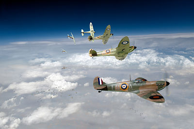 WWII fighters pictures