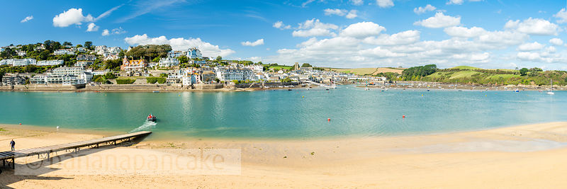 BP6516B- Panoramic view of Salcombe from East Portlemouth