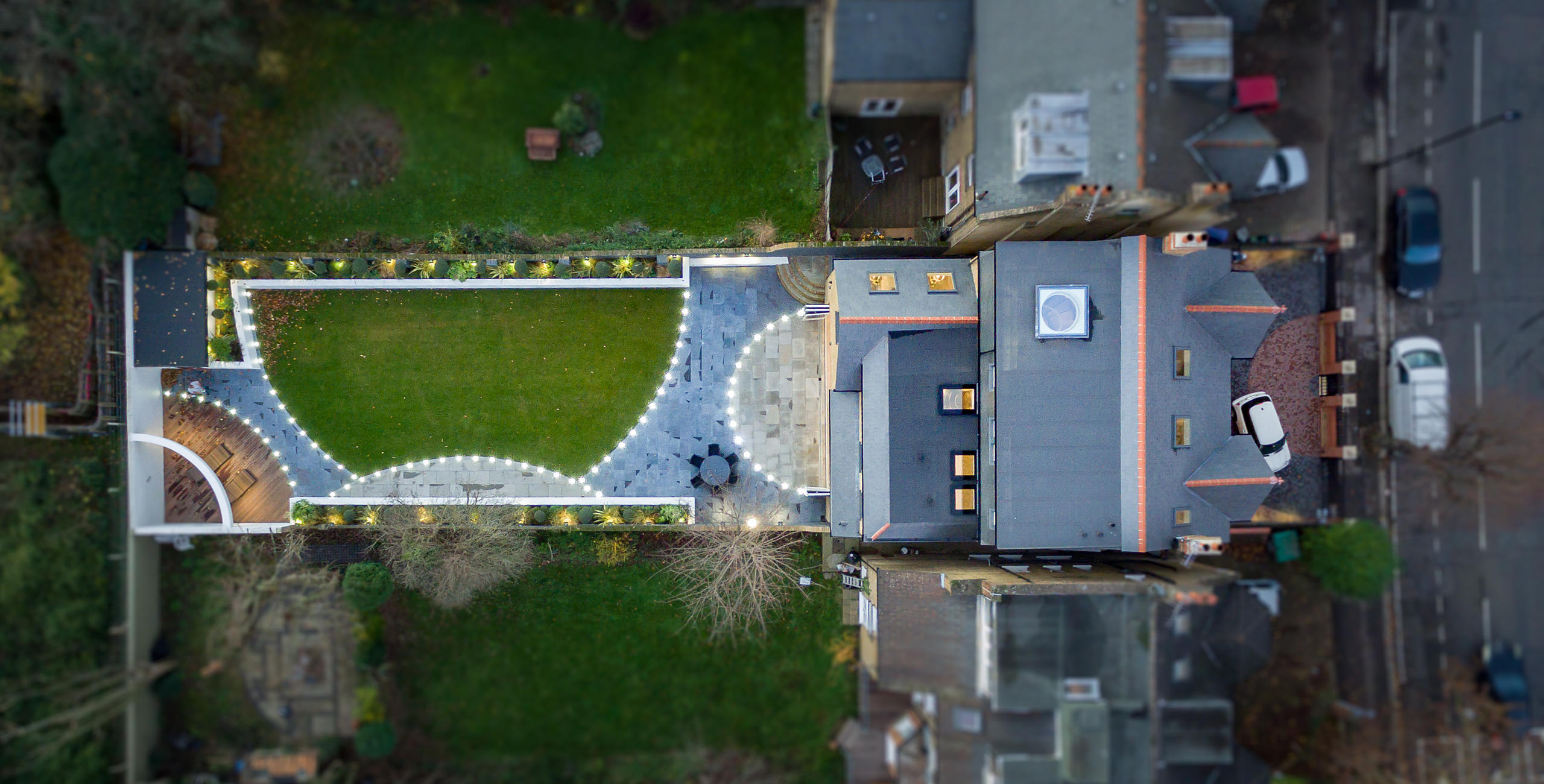 London Luxury Property Sale Aerial Survey