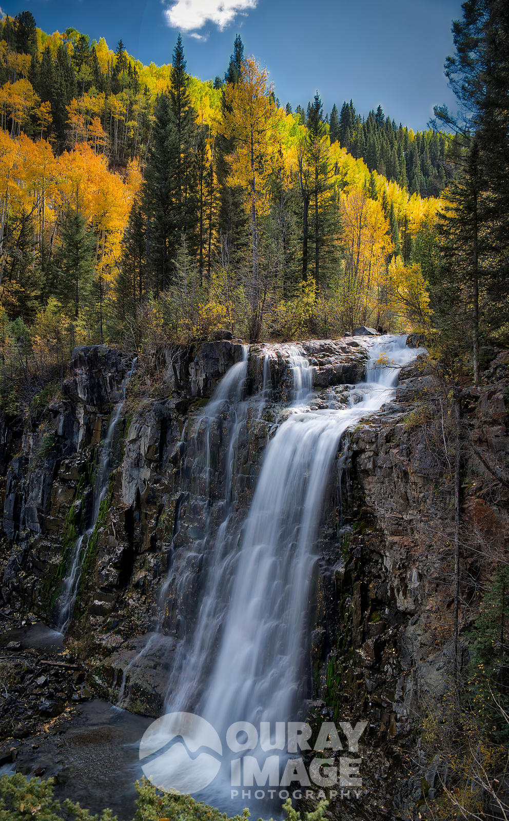 Waterfall near Telluride