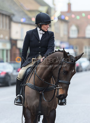 HB At the meet. The Cottesmore Hunt Boxing Day Meet in Oakham 26/12