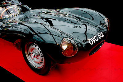 Jaguar D-Type OVC 501 -1954