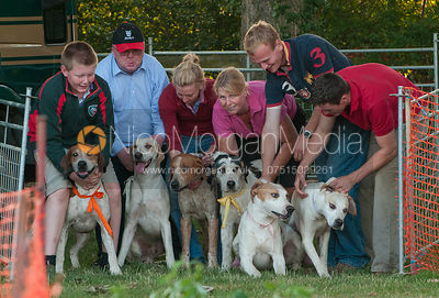 Hound Racing at the Cottesmore Hunt kennels