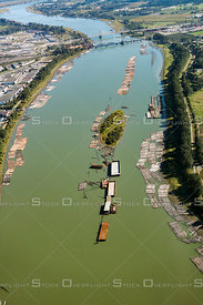 Pitt River Industries and Bridge BC Canada