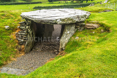 Capel Garmon Burial Chamber Entrance- Near Betws-y-Coed, Wales