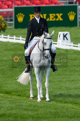 Mark Kyle (IRL) and Step in Time - Dressage