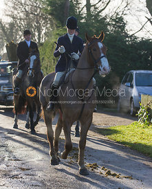 Antonia Bealby - The Quorn Hunt at Swan Lodge 16/12