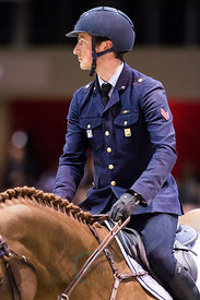 Bordeaux, France, 2.2.2018, Sport, Reitsport, Jumping International de Bordeaux - . Bild zeigt Lorenzo DE LUCA (ITA) riding H...