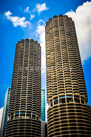 Picture of Chicago Marina City Towers