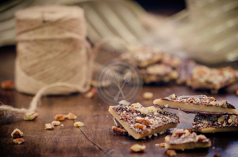 Pieces of Christmas Toffee