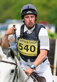 Matthew Wright and CLASS BOOZE CRUISE, Fairfax & Favor Rockingham Horse Trials 2018