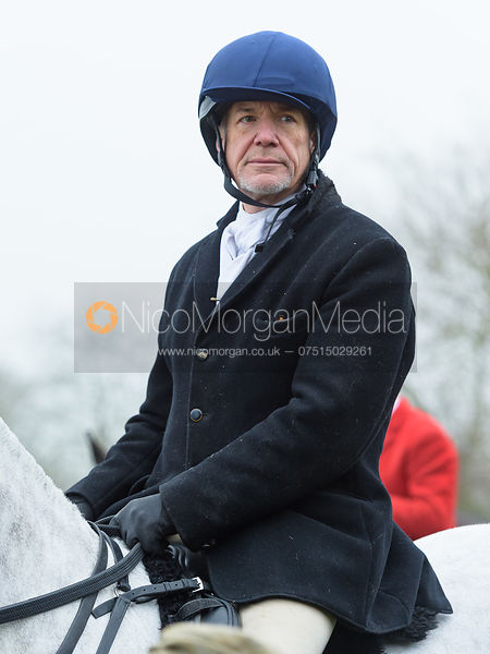 Tim Terry At the meet. The visit of the Wynnstay Hounds to the Cottesmore 27/11