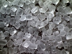 SUGAR: extreme close-up of sugar #2