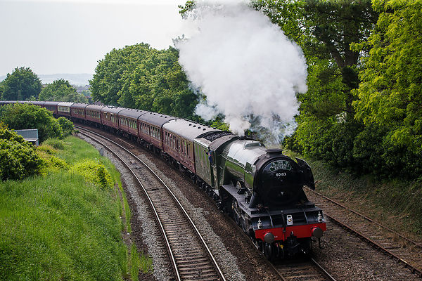 Flying Scotsman in Salisbury 28.05.16