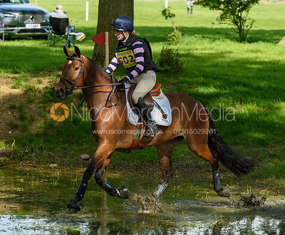 Greta Mason and VITORIA DH Z, Fairfax & Favor Rockingham Horse Trials 2018
