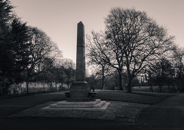 Princes Park Obelisk & Drinking Fountain