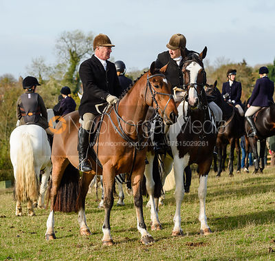 Peter Cooke, Russell Cripps, Cottesmore Hunt Opening Meet 2018
