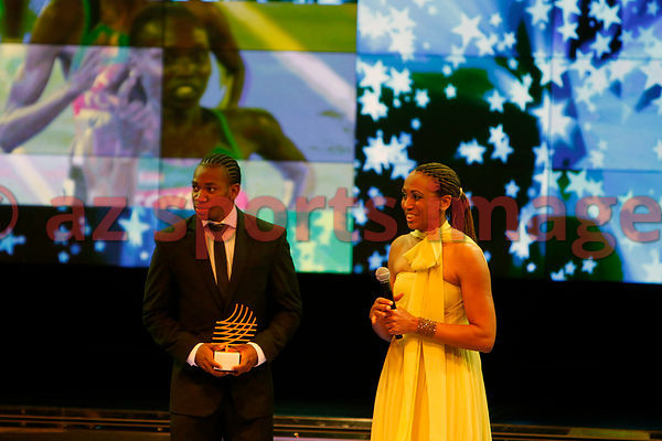 Yohan Blake at the IAAF Gala Monaco - Athlete of the year event