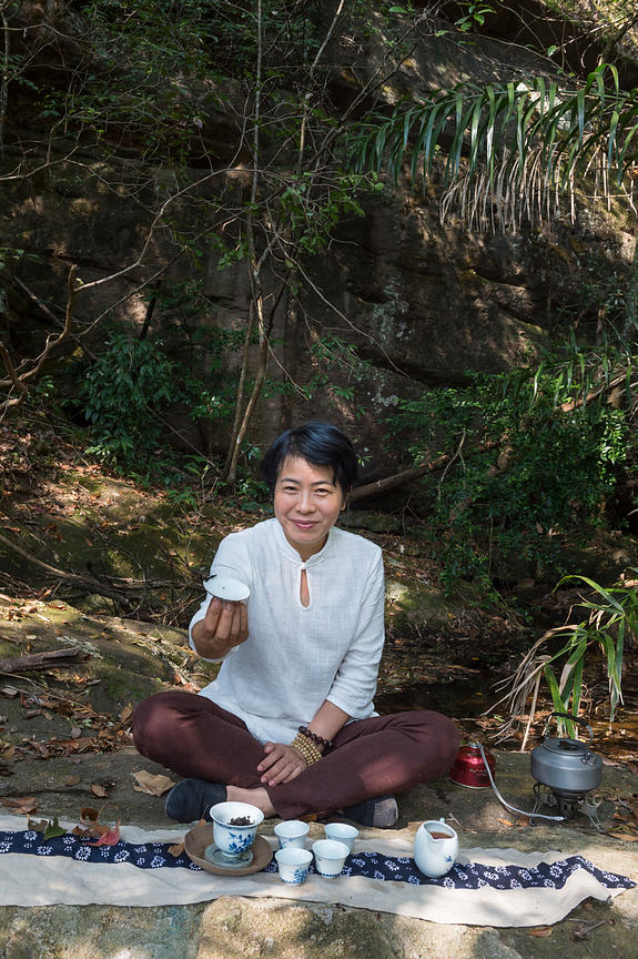 Tea grower Zhi Yuen