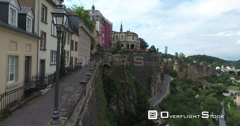 Drone Video Luxembourg City