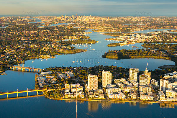 Rhodes and the Parramatta River