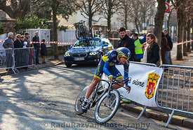 The Cyclist Christensen Mads- Paris Nice 2013 Prologue in Houilles