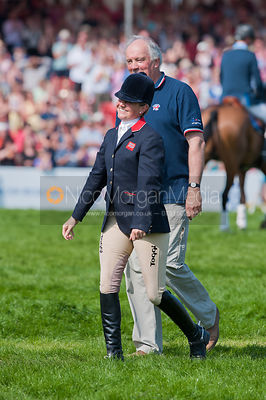 Piggy and Walter French, Badminton Horse Trials 2011