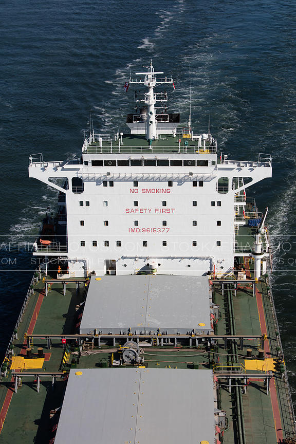 Cargo Ship Closeup