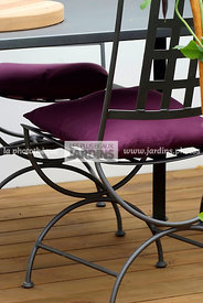 Garden chair, garden designer, Garden furniture, Wooden Terrace, Ironwork