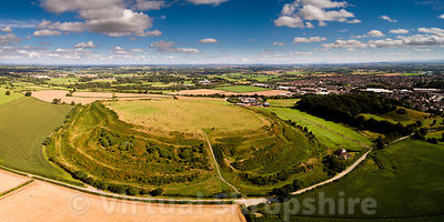 Old Oswestry Hillfort (Panorama)