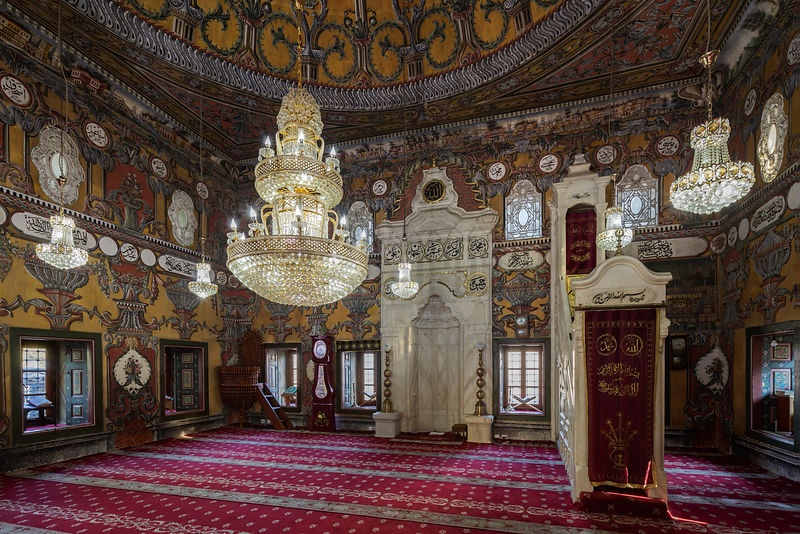 Interior of Pasha's Mosque (The Painted Mosque)