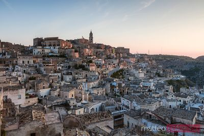 Sunrise over Sassi di Matera, Italy