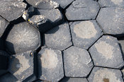 Basalt colomns at Giants Causeway, Northern Ireland.