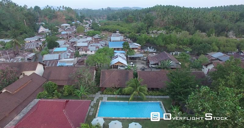 Tropical Seaside Resort on Bali Indonesia