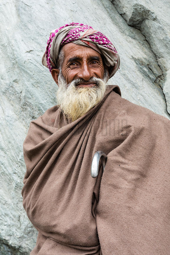 Portrait of a Nomadic Herder