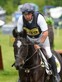Matthew Wright and COOLEY OUTLAW, Fairfax & Favor Rockingham Horse Trials 2018