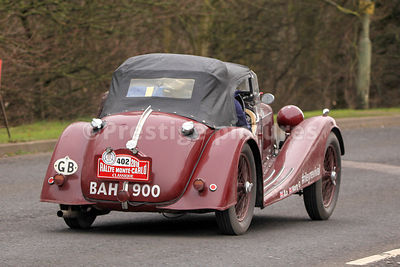 John Lomas & Martin Greaves in the Blue Diamond 1936 Riley Sprint