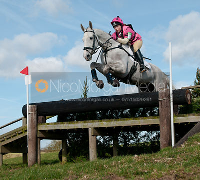 Emma Hyslop and Waldo III, Oasby Horse Trials 2011