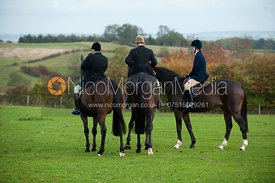 The Cottesmore Hunt at Stimsons Barns, Somerby