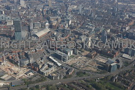 Manchester Central Convention Complex and First Street developments Manchester Southern Gateway development area