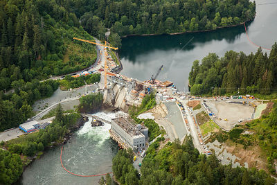 Hayward Lake and Ruskin Dam Mission BC