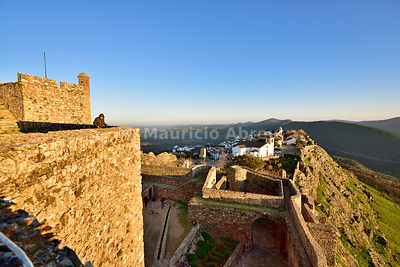 The medieval village and castle of Marvão. Alentejo, Portugal