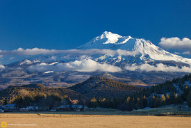 Mount Shasta in Winter #4