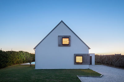 Vue of the Reserve, Pors Carn // Pierre-Yves LE GOAZIOU ARCHITECTES