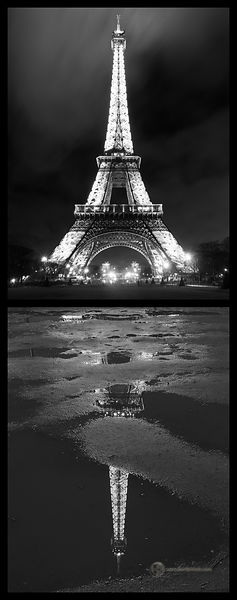 France - Paris (Eiffel Tower Reflection)